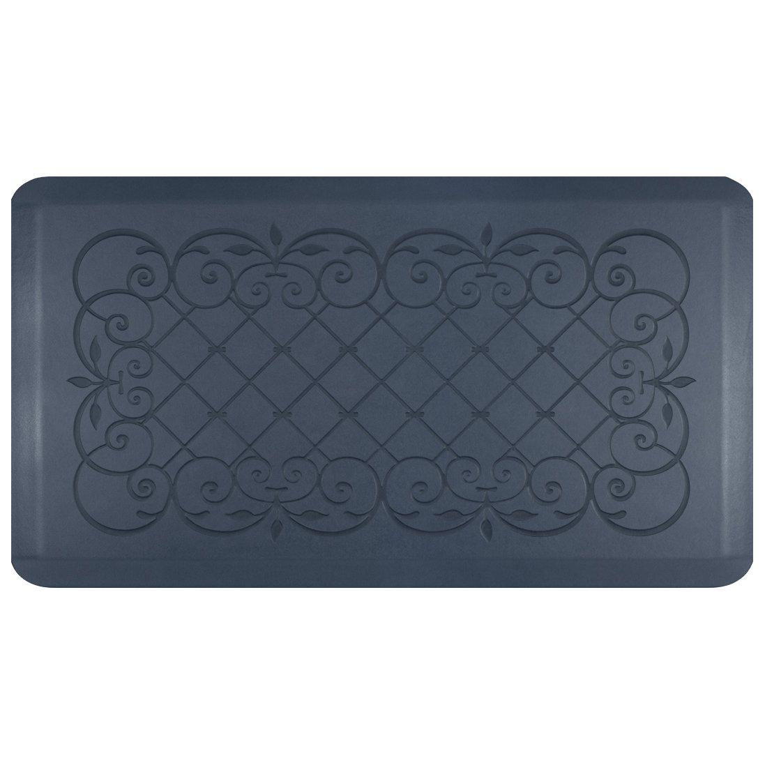 Smart Step Home Collection Anti-Fatigue Mat, Blue Lagoon, 36'' X 20'' by Smart Step