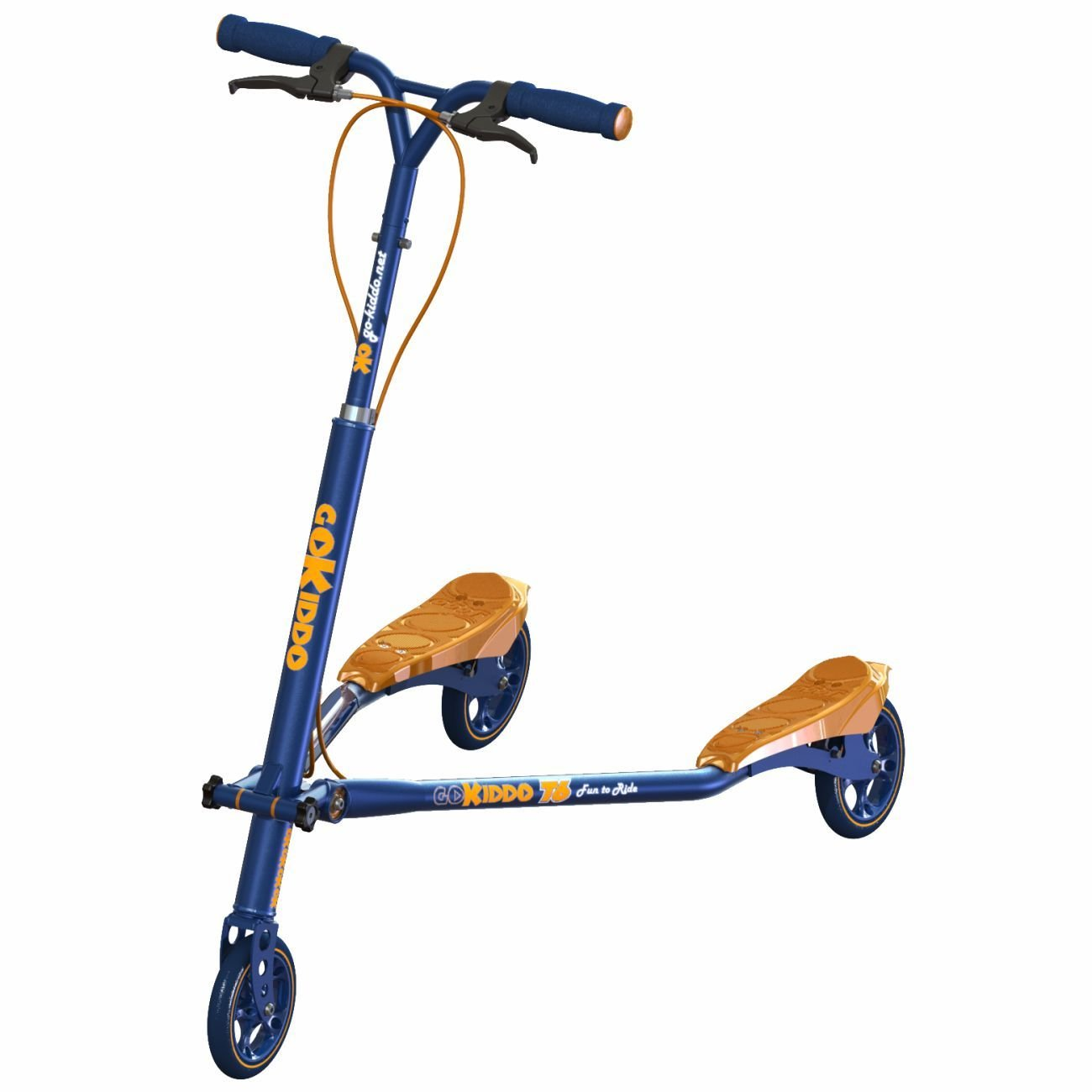Go-Kiddo T6 Carving Scooter, Purple GK-T6-PP