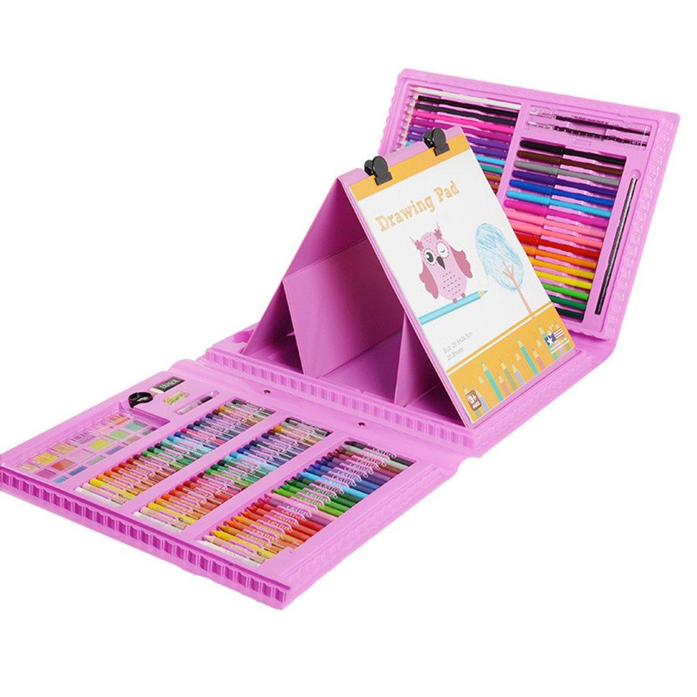 Kit De Arte Profesional Kit De Arte 172 De Lápices De Colores De 172 Arte Piezas para Niños Conjunto De Lápices De Colores para Adultos Y Niños Set De Dibujo Y Más 6df59b