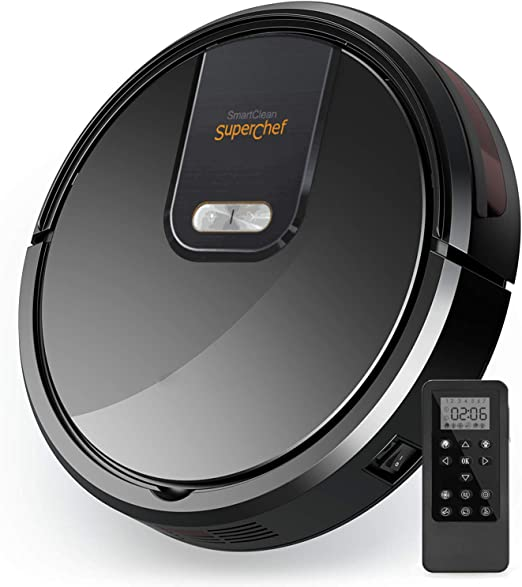 SuperChef Robot Aspirador SF420 SmartClean, Navegación Inteligente ...