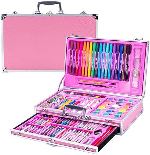pomelogreem Profesional Lápices de Colores Conjunto,123 Caja de ...