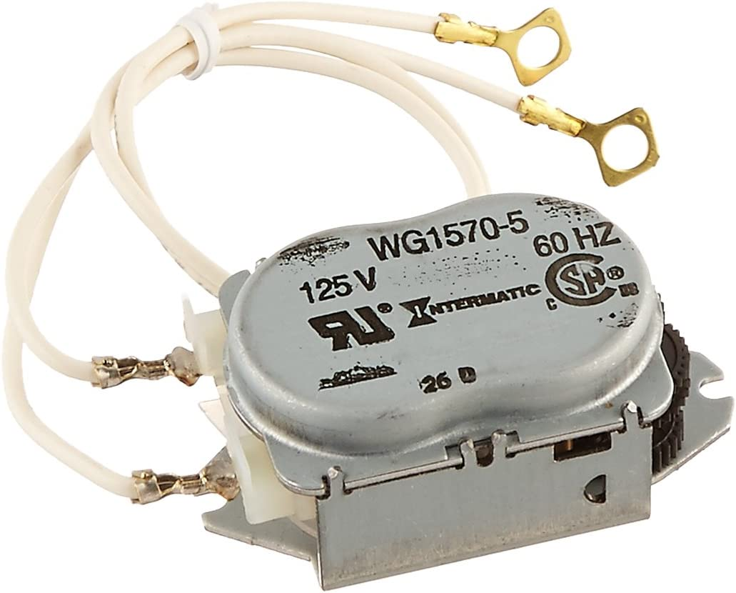 Intermatic WG1570-10D 125V 60-Hertz Replacement Time Clock Motor for T100, T170, T100R201, T1400, T100-20 and WH Series - Timers -