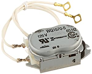 Intermatic WG1570-10D 125V 60-HertzReplacement Time Clock Motor for T100, T170, T100R201, T1400, T100-20 and WH Series
