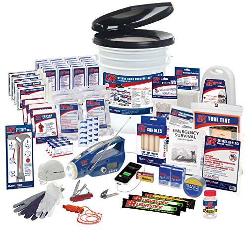 ER Emergency Ready SKH4DR 4 Person Ultimate Deluxe Survival Kit