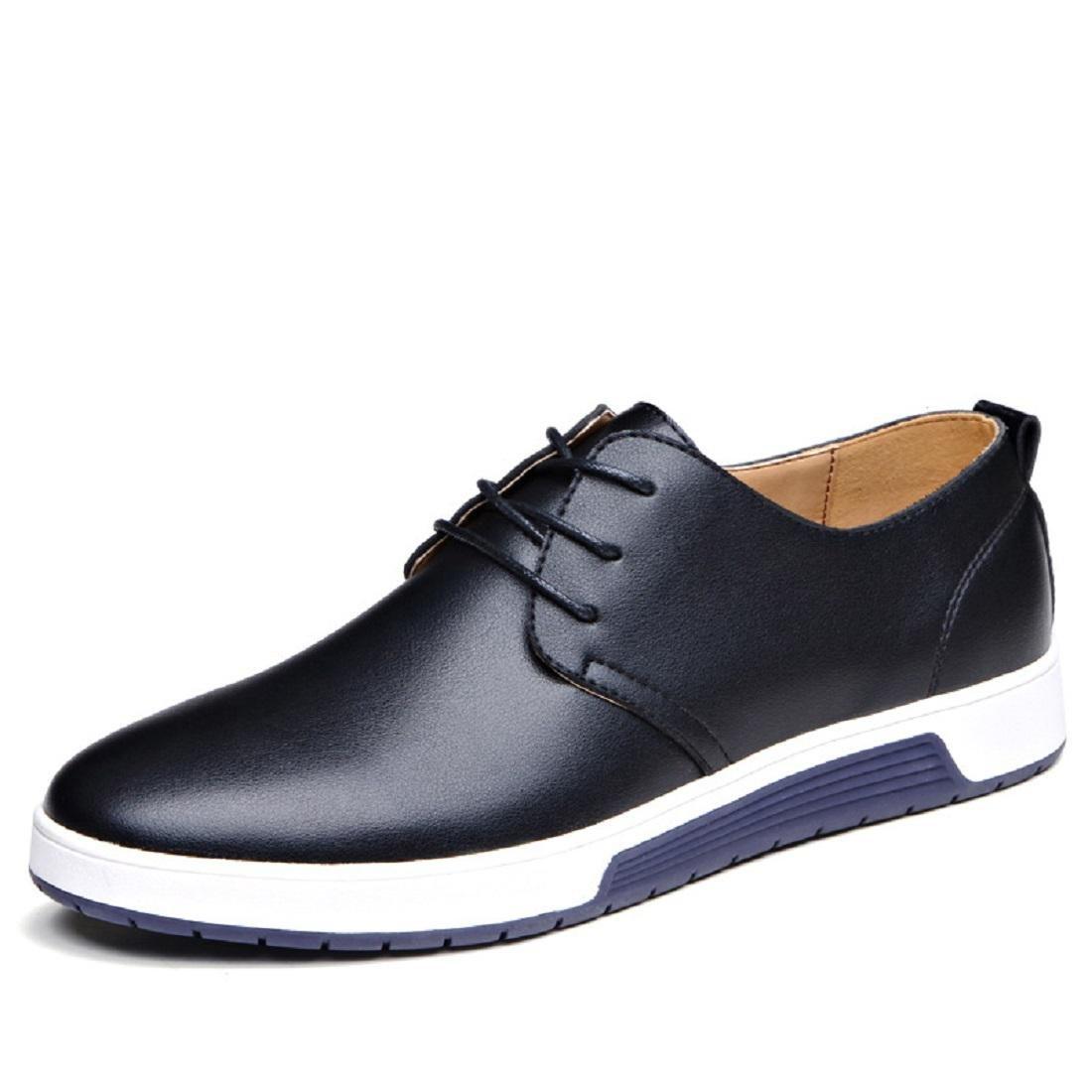 Herren Mode Das neue Licht Freizeit Lederschuhe Flache Schuhe Trainer Laufschuhe Gemütlich Große Größe Rutschfest EUR GRÖSSE 38-47