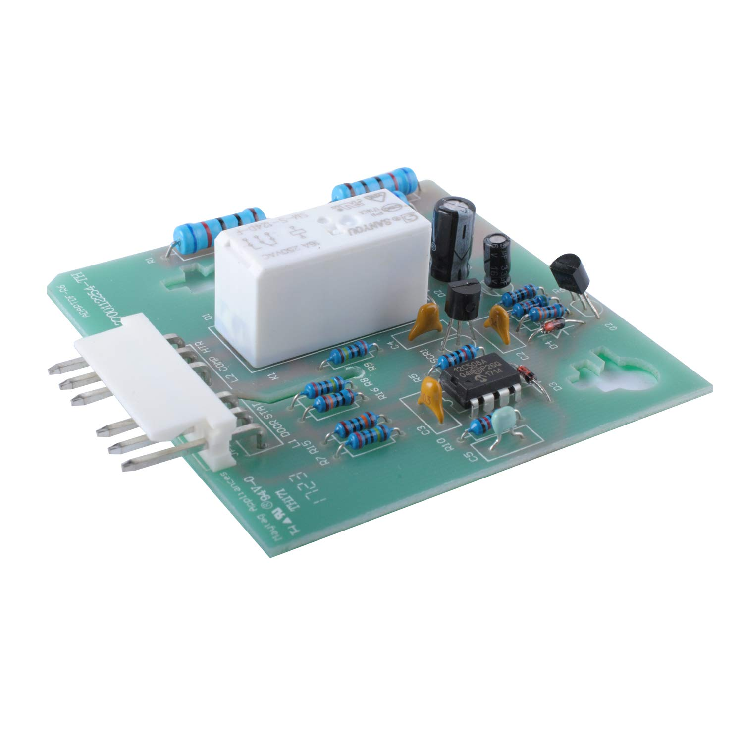 Wadoy 61005988 Adaptive Defrost Control Board for Whirlpool Maytag - Replaces 67003349, 61003990, 61002983, 12002104, ADC5988 Refrigerator Defrost Control Board Timer