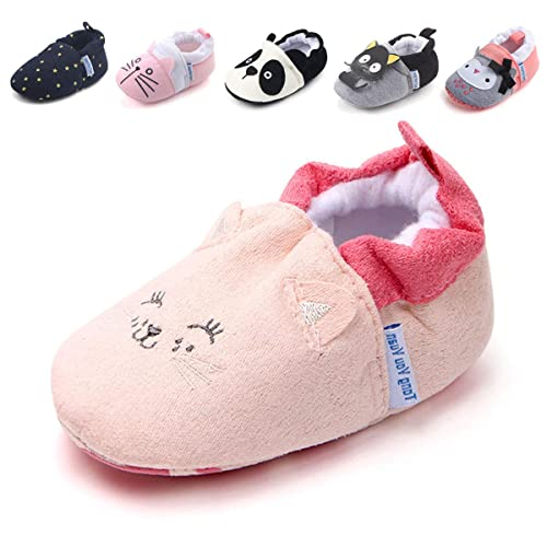 c2aff2b23c0e4 Baby Boys Girls Slippers Cartoon Socks Shoes Soft Sole Toddler Prewalker  Infant First Walker Newborn Crib Shoes