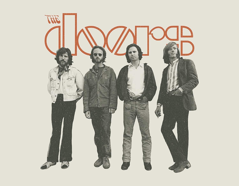 Desperate Enterprises The Doors - The Band Tin Sign ...