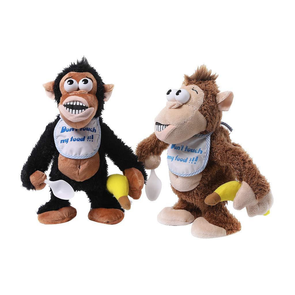 Amazon.com: Nivalkid Naughty Crying Monkey Juguete ...