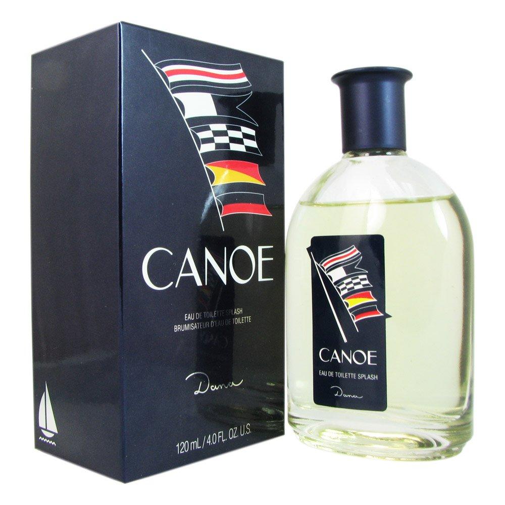 Canoe Eau De Toilette for Men by Dana, 4 Ounce
