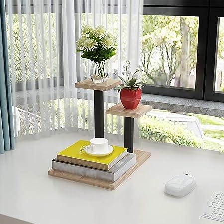 Soporte de planta de mesa, estante for macetas Hierro arte Multi ...