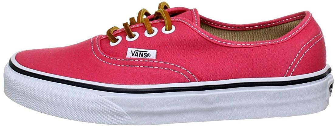 7d56d7f70d Vans Men s Authentic Technical Skateboarding Shoes Baby Pink Brushed Twill  Salmon True White  Amazon.co.uk  Shoes   Bags