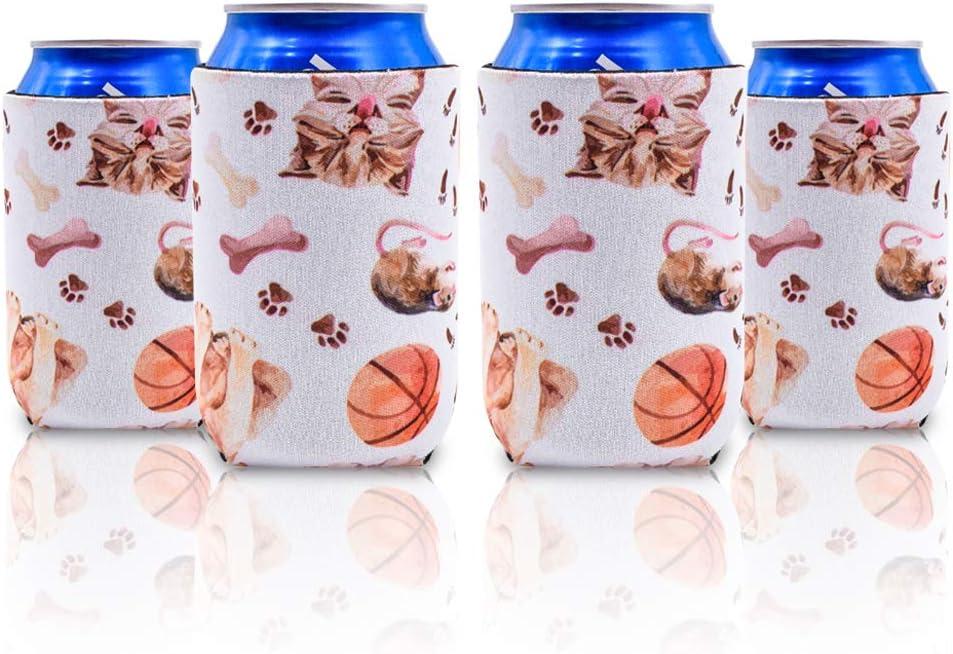 10 Faltbarer Flaschenkühler Bier Dosenkühler Hüllen Wärmeschutz für Hochzeit