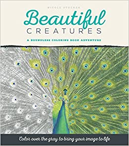 Amazon.com: Beautiful Creatures: A Grayscale Adult Coloring ...