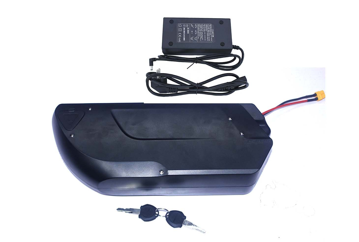 36V9AH-18AH Down Tube Type Li-on Ebike Battery 電動自転車バッテリ for 36V350W-750W Electric Bike Kit Theebikemotor B01N0A1O6K   36V18AH-Panasonic NCR18650PF