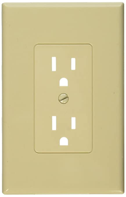 Taymac MW2500I Decorator Cover Nonmetallic Wallplate, One Grounded ...