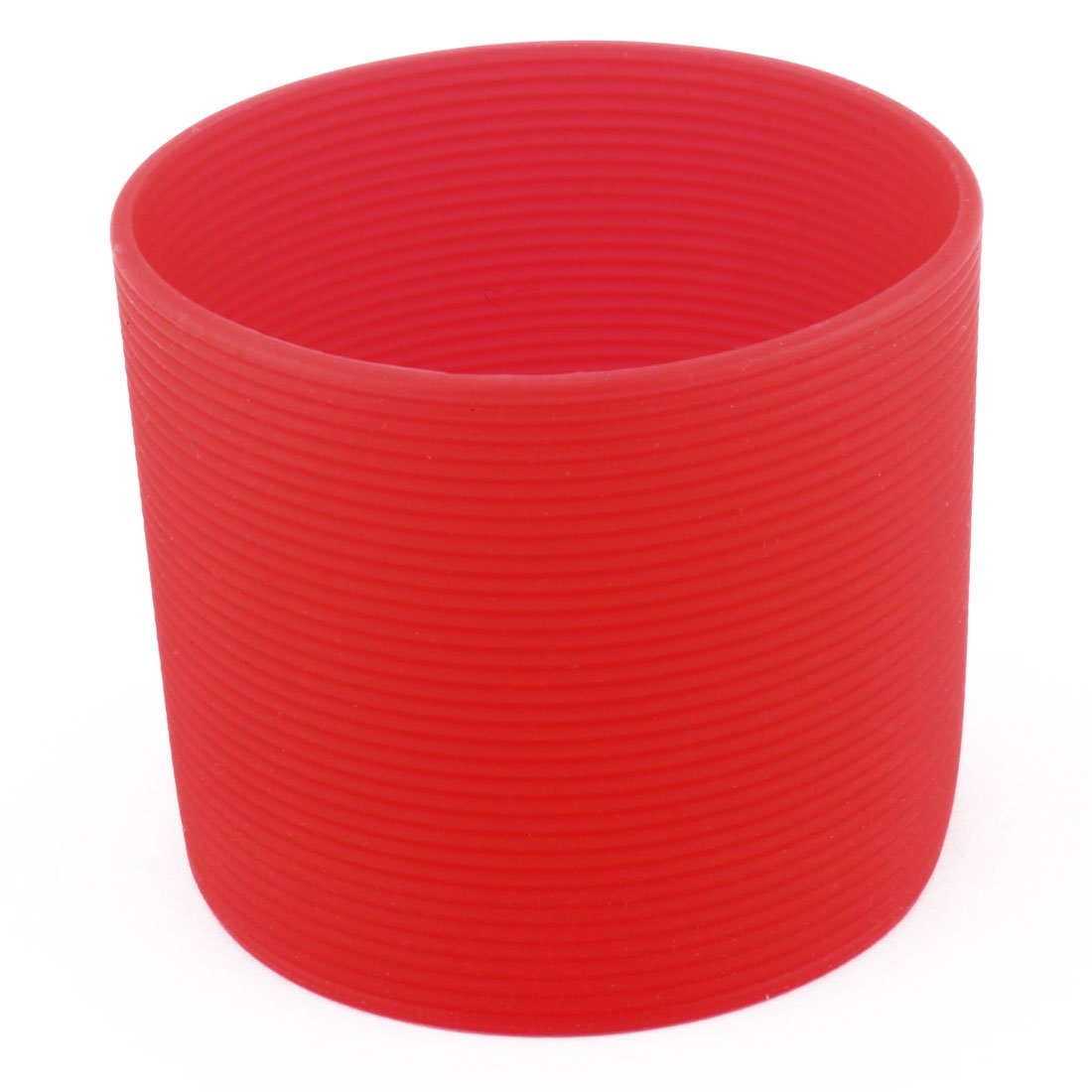 uxcell Silicone Household Reusable Heat Resistant Nonslip Glass Bottle Mug Cup Sleeve 6cm Dia Blue a17022400ux0134