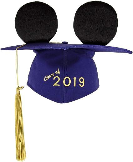 Disney Parks Mickey Mouse Ear Hat Graduation 2018 Cap With Tassel