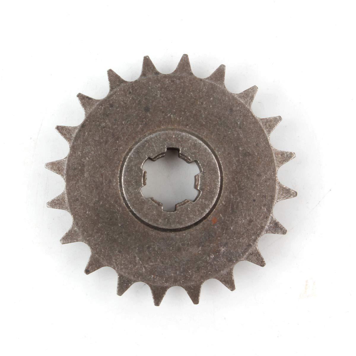 Pro Caken T8/F 20T pignone anteriore frizione Gear Box catena pignone 47/CC 49/cc Dirt bike Minimoto T8/F Pitch 20/denti