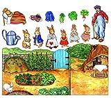 Story Time Felts a Rabbit's Tale Felt Figures for Flannel Board Stories- Precut