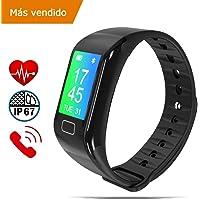 NK Pulsera de Actividad Inteligente Smartband-02, Frecuencia cardíaca, Monitor…