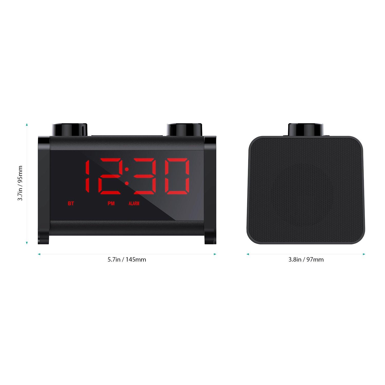 FM Radio und Wecker mit großem Display und Bluetooth / Bild: Amazon.de
