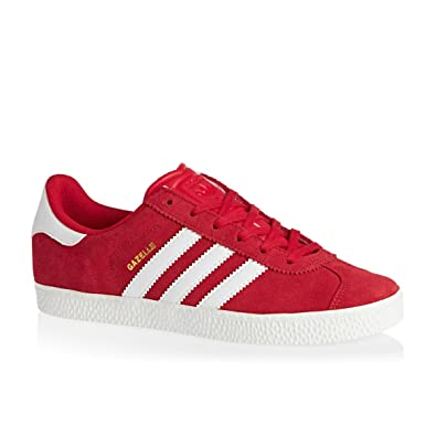 Adidas - Gazelle 2 J - S32246 - Color: Red-White - Size: