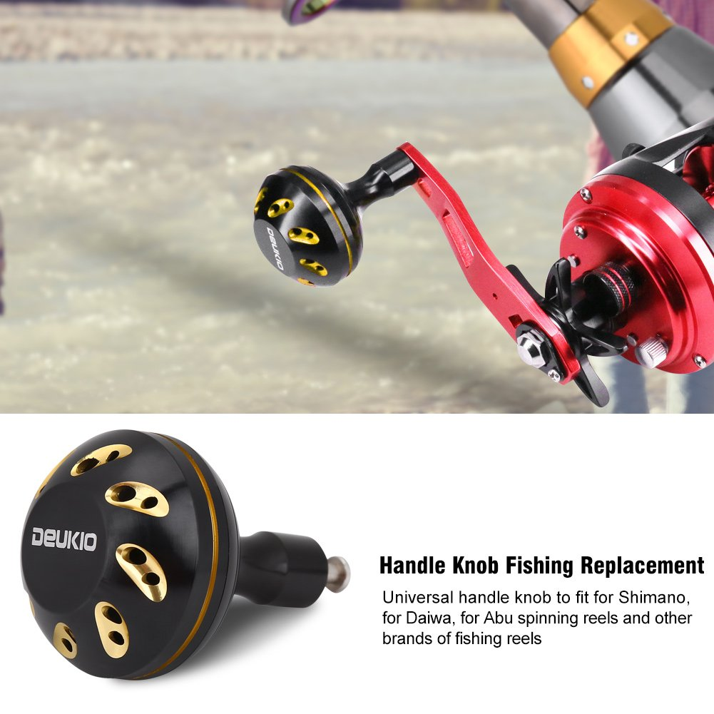 VGEBY Fishing Knobs Metal Lightweight Reel Handle Ball Fishing Reel Replacement for S//D//A Reel