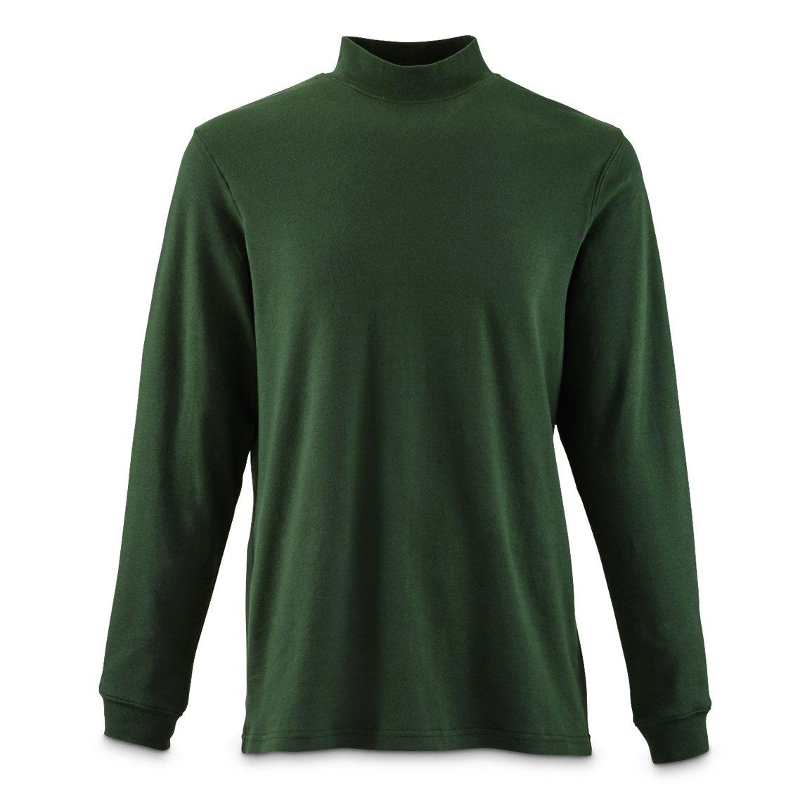Guide Gear Men's Mock Turtleneck Long-Sleeve Shirt