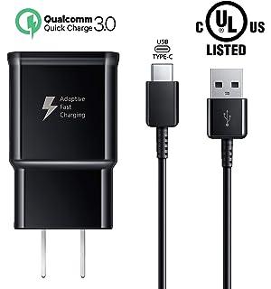 Tech/&Nology Cargador Original R/ápido Samsung 2A S8+ Cable de 1,5m USB Tipo C Negro para Samsung Galaxy S8 S9 S9+