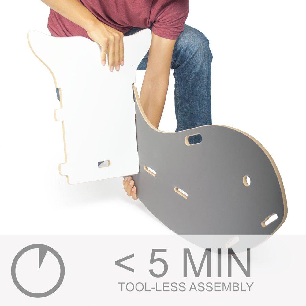 Grey Whale Rocking Chair