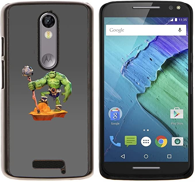 Skull Market/ - Barbarian Orc For Motorola Moto X 3rd / Moto X ...