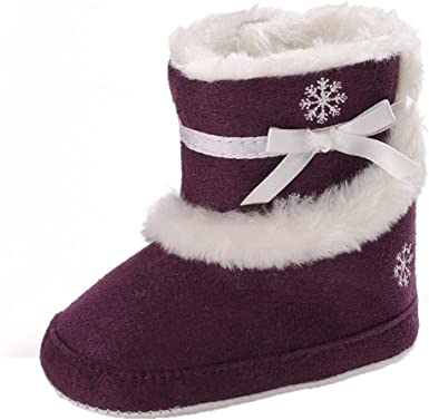 Baby Winter Snow Boots Toddler Girls
