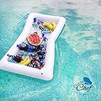 Compra Barra de mesa hinchable para piscina, 2 unidades de bandeja ...