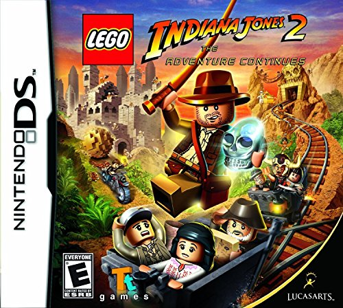 Lego Indiana Jones 2: The Adventure Continues - Nintendo DS