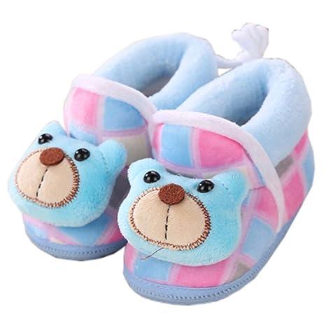 Calzado de invierno Unisex Zapatos de bebé Botines para niños Zapatos para caminar para bebés Regalo