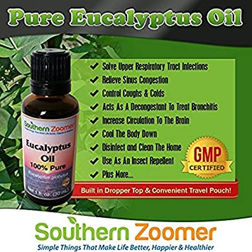 Pure Eucalyptus Globulus Essential Oil Best For Aromatherapy Colds Chest Rub