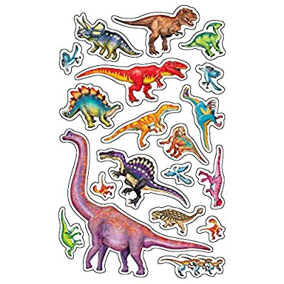 Trend Enterprises Inc. Discovering Dinosaurs superShapes Stickers-Large, 152 ct: Toys & Games