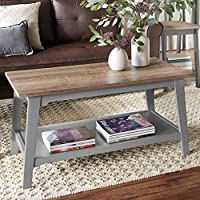 Better Homes and Gardens Bedford Coffee Table, Gray