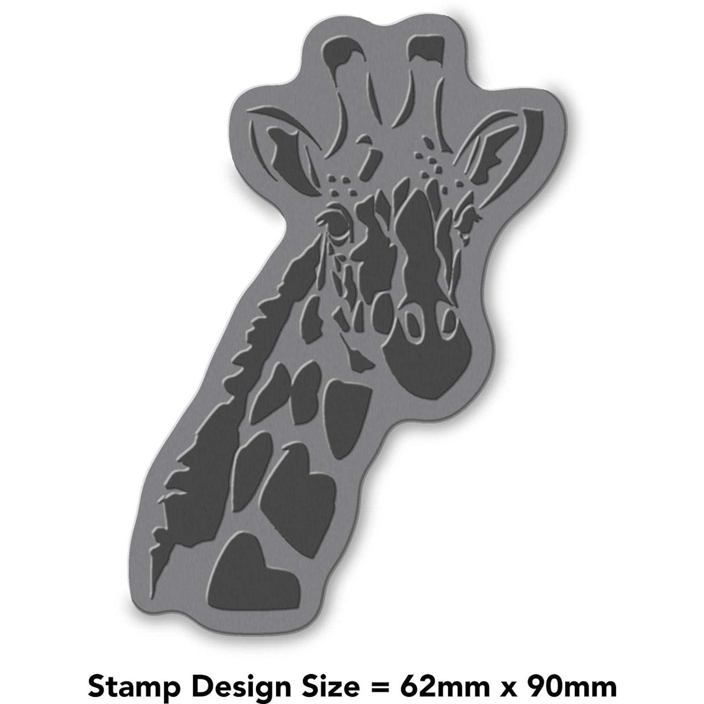 Azeeda A7 Girafe Tampon Non mont/é RS00000583