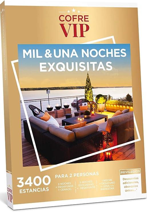 CofreVIP Caja Regalo MIL & UNA Noches EXQUISITAS 3.400 estancias a ...