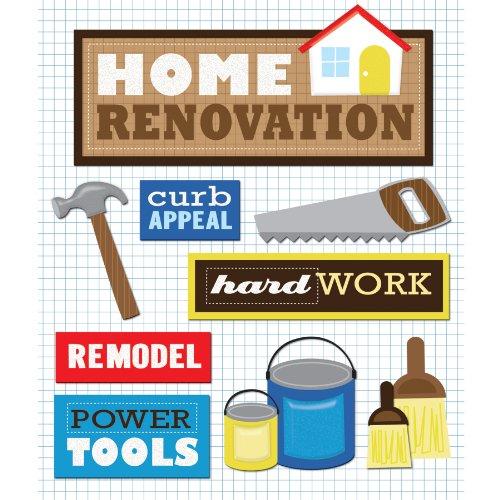 (K&Company House Renovation Sticker Medley)