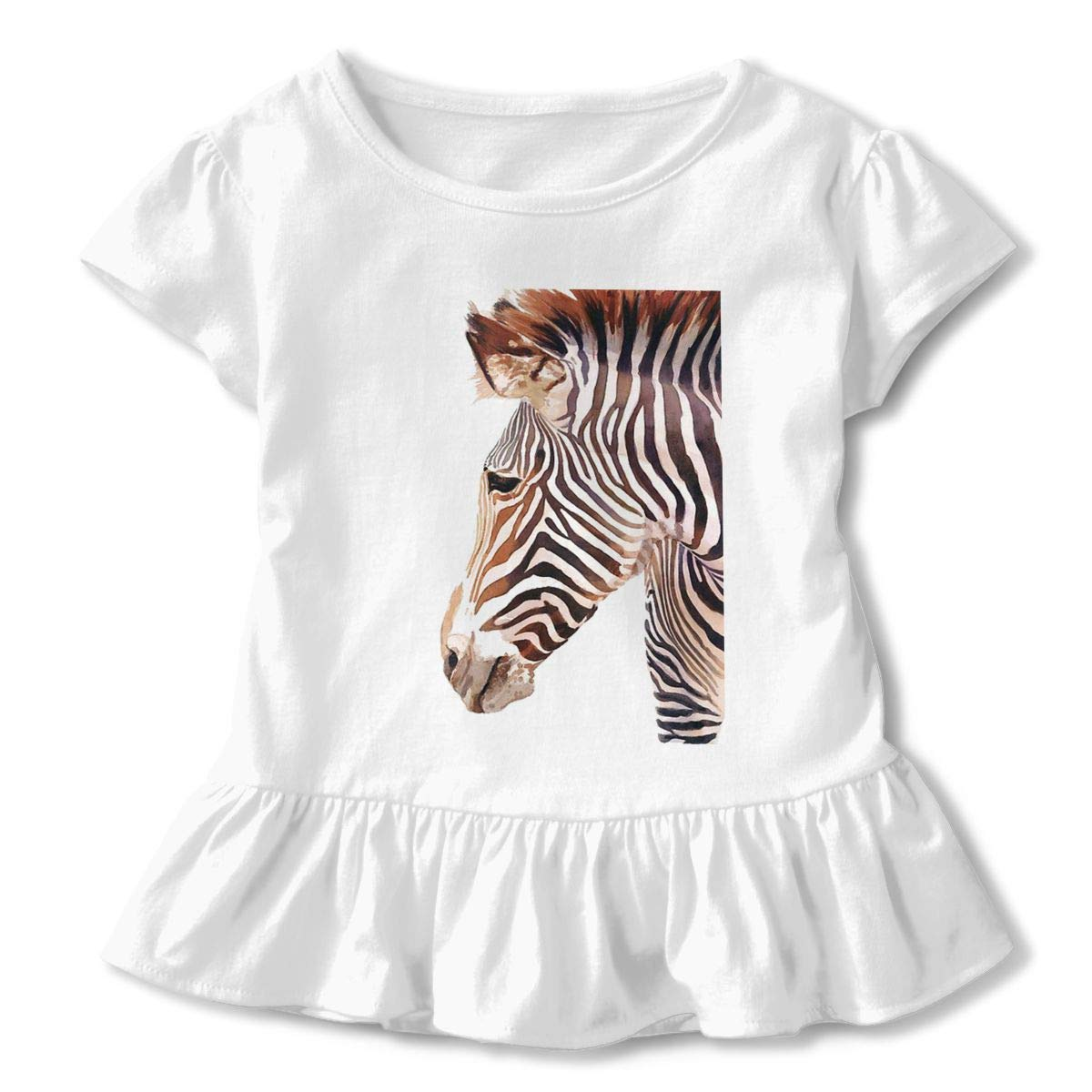 Happy-girl Ye Zebra Outdoor Lover Short-Sleeve Tunic T-Shirt