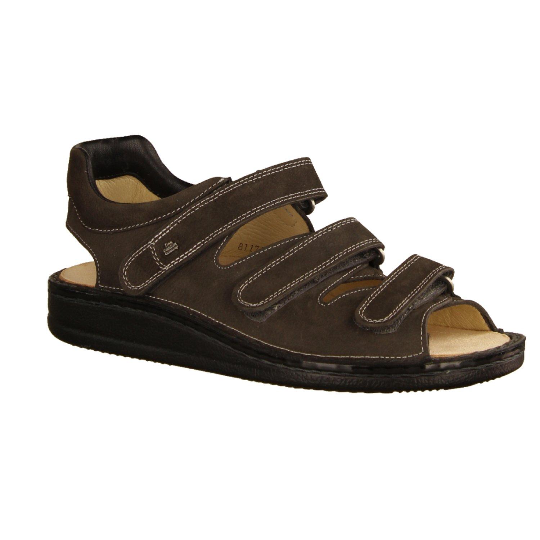 Finn Comfort 1511518218 - Sandalias de vestir para hombre 43 EU|gris