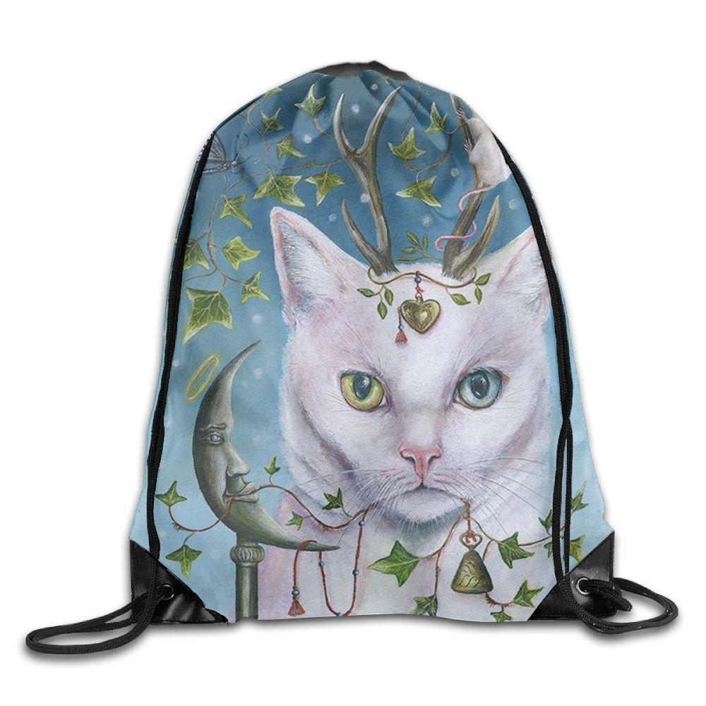 【ラッピング無料】 CUW BBCUW ホーリー One Size フローラル Floral ホワイト 子猫 ノベルティ ドローストリング バックパック ワークアウト サックパック メンズ&レディース スクール トラベルバッグ B0794VDBQ8 Holy Floral White Kitten One Size One Size|Holy Floral White Kitten, Eterille:f02400a3 --- 4x4.lt