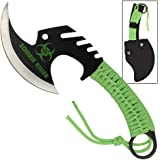 Zombie Killer Skullsplitter Throwing Axe - Green