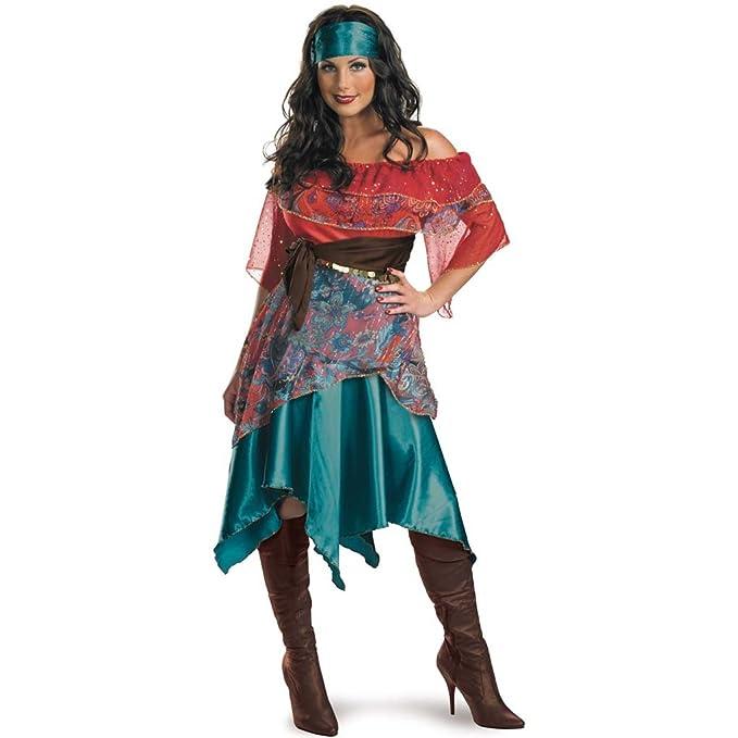 Amazon.com: Adultos de Bohemia Babe – Disfraz de pirata ...