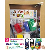 YellowBee My-Clay Door Tag Set Pack Of 2 (Mc-Dt02)
