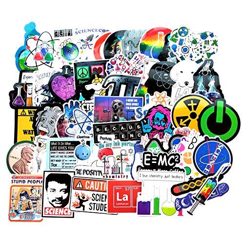 Stickers Calcos 51 un. Ciencia Origen U.S.A. (7RV317CM)