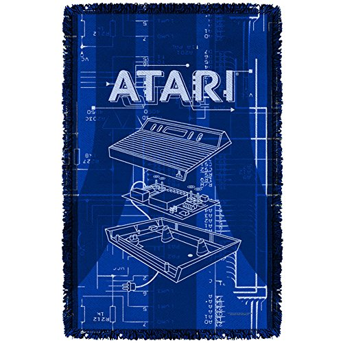 Price comparison product image Atari Inside Out Woven Throw White 36X58